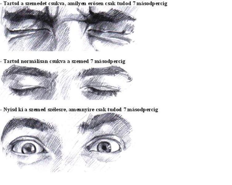 Bates látásjavító gyakorlatok)