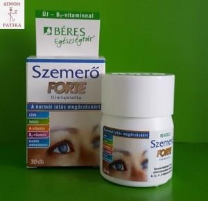 gyógyszerek a látáshoz a-vitaminnal