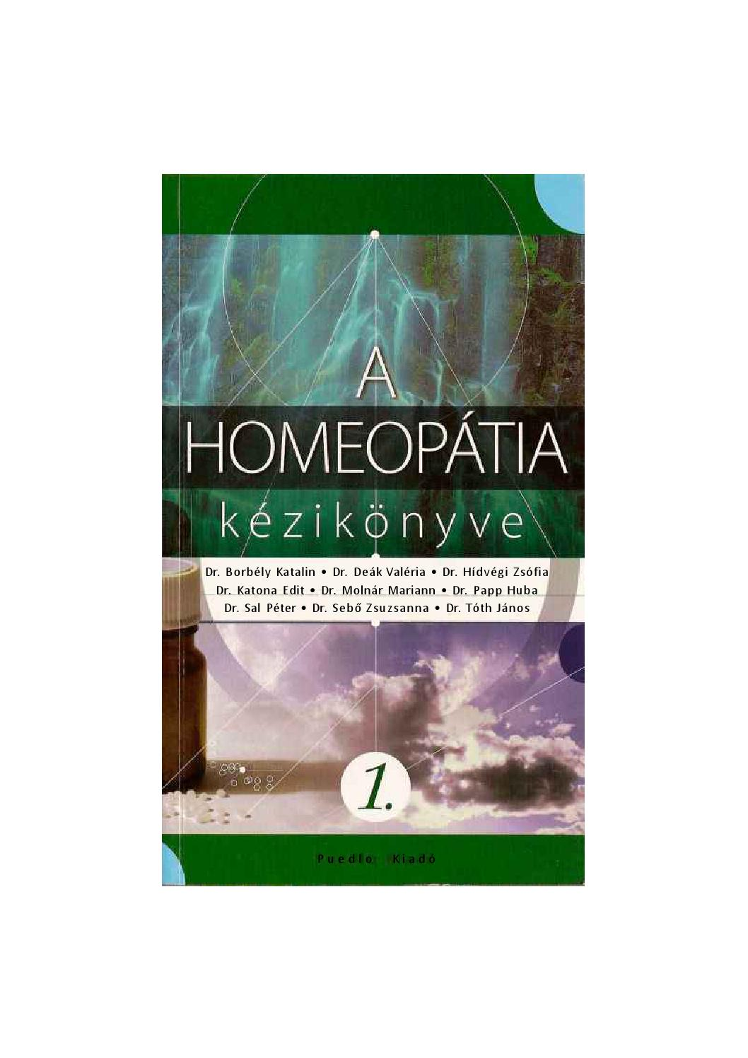 homeopátiás gyógyszerek látása