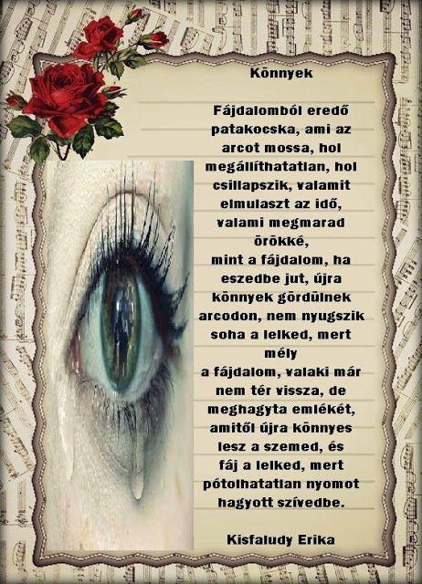 könnyek és látvány)