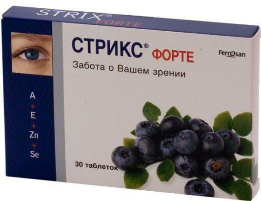 vitaminok és tabletták a látás javítására